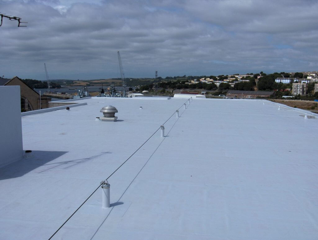 Spectraplan single ply roofing membrane