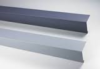 drip and upstand membrane coated metal