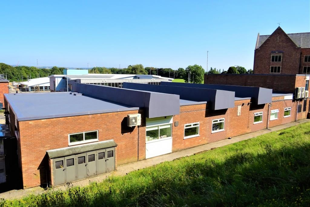Single Ply Refurbishment Roof For Hopwood Hall College