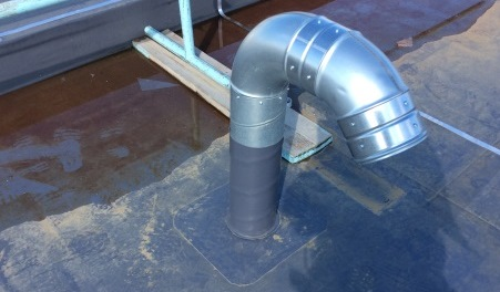 ducting pipe detailing