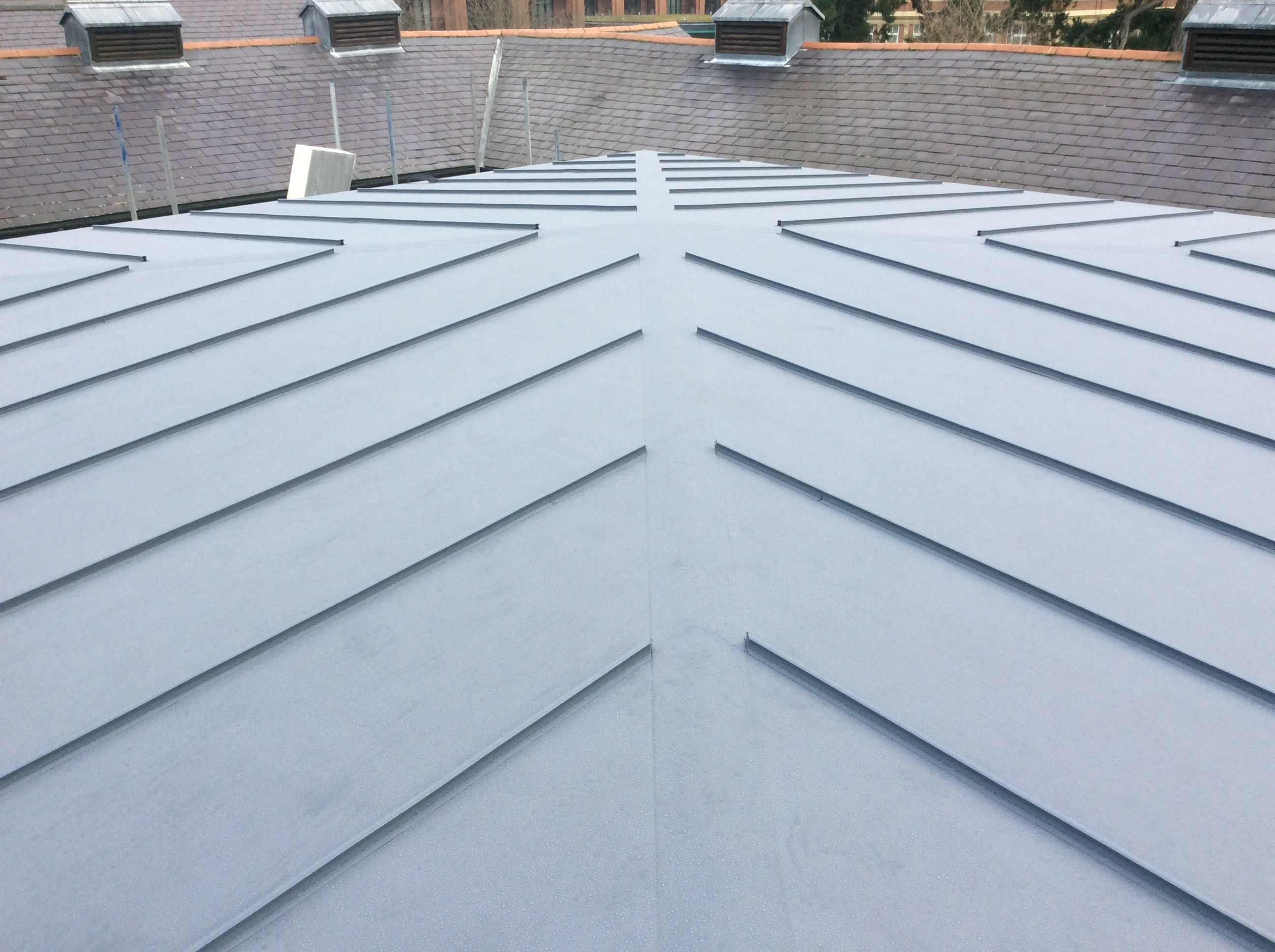FINAL INSPECTION FLAT ROOFING